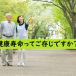高齢者と介護士の散歩の画像