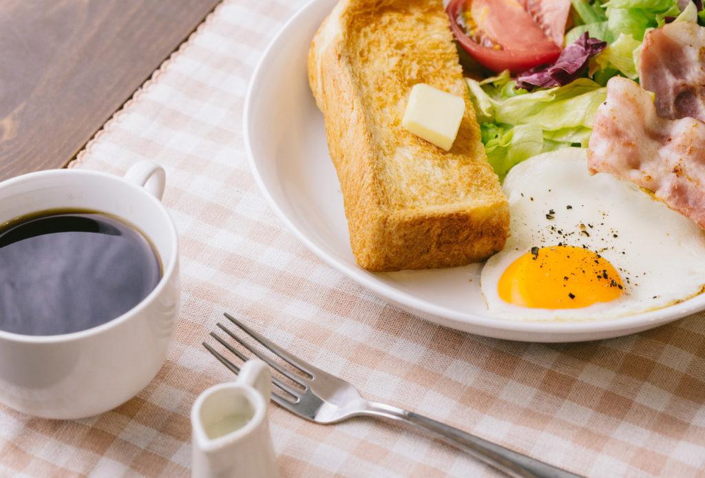 朝食の画像